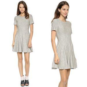 Tibi Herringbone Daria Knit Panel Dress 8